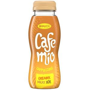Rauch Cafemio Cappuccino, creamy iced coffee, PET
