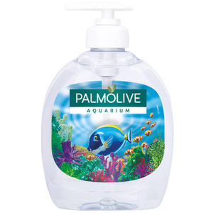 Palmolive Aquarium, Flüssigseife ph-neutral, ORIGINAL (Pumpe)