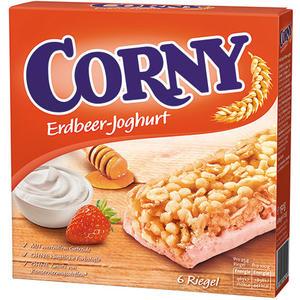 Corny Erdbeer-Joghurt Müsliriegel, 6 Stück