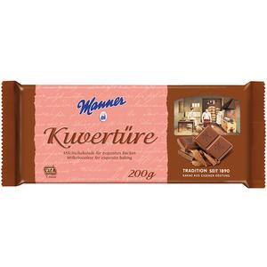 Manner Kuvertüre Milchschokolade UTZ