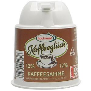 Hochwald Kaffeeglück Kaffeesahne, 12 % Fett