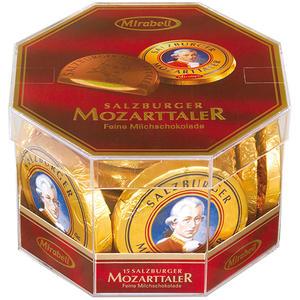 Mirabell Salzburger Mozarttaler, Geschenkdose, 15 Stück