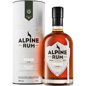 Pfanner Alpine Rum, im Eichenfass gereift, 40 % Vol.Alk., Österreich, in Geschenkdose