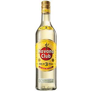 Havana Club Anejo 3 Anos Rum, El Ron de Cuba, 40 % Vol.Alk.