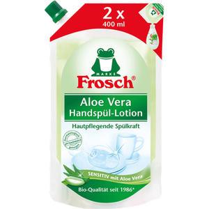 Frosch Spül-Lotion Aloe Vera BIO, sensitiv, NACHFÜLLBEUTEL
