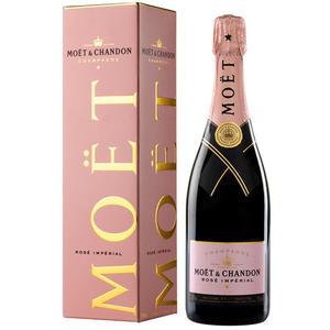 Moet & Chandon Rosé Imperial Brut Champagne, im Geschenkkarton