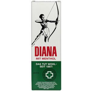 Diana mit Menthol, Franzbranntwein zum Einreiben & Gurgeln