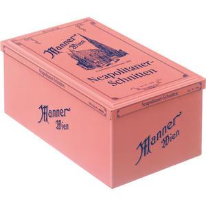 Manner Schnitten Original Neapolitaner UTZ, Nostalgiedose, 8 Packungen packungen à 75 g