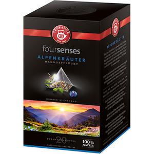 Teekanne foursenses Alpenkräuter, Pyramidenbeutel