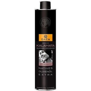 Gaea Kalamata Griechisches Olivenöl Nativ Extra, Aroma-Safe-Dose