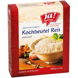 ja! Natürlich. Bio Kochbeutel-Reis, Italienischer Langkorn