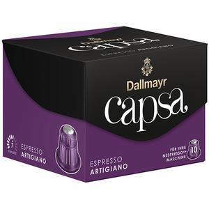 Dallmayr Capsa Espresso Artigiano 7, Nespresso-kompatibel, 10 Kaffeekapseln