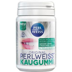 Perlweiss Kaugummi Fresh Mint