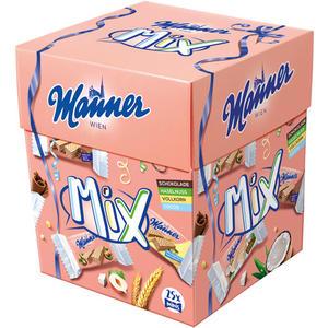 Manner Schnitten Minis Mix-Box (2 Schnitten p. Minipackung), 4 Sorten, 25 Packungen