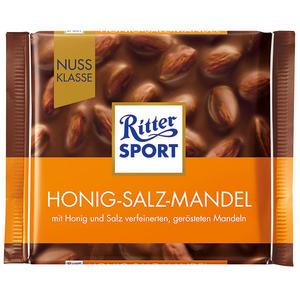 Ritter Sport Nuss-Klasse Honig-Salz-Mandel