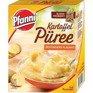 Pfanni Kartoffelpüree, 3 x 3 Portionen