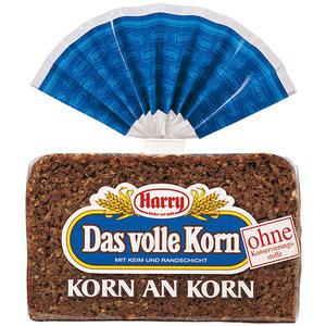 Harry Korn an Korn, dunkles Vollkornbrot, geschnitten