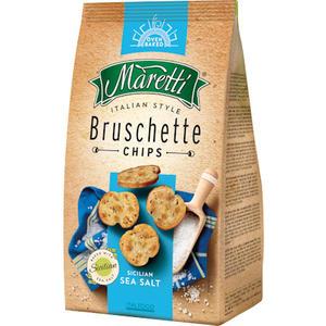Maretti Bruschette Sicilian Sea Salt, Brotchips