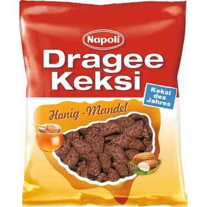 Napoli Dragee Keksi Honig-Mandel