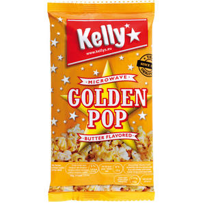 Kelly Mikrowellen-Popcorn Golden Pop Butter