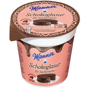 Manner Schokoglasur für Sachertorte UTZ