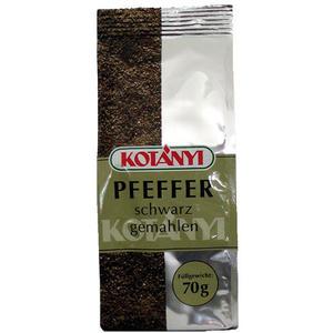 Kotanyi Pfeffer schwarz gemahlen, aus Vietnam