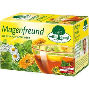 Willi Dungl Magenfreund, wohltuender Kräutertee, Teebeutel im Kuvert