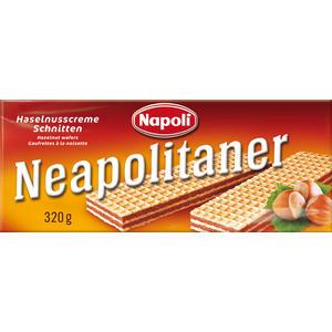 Napoli Neapolitaner, Haselnusscreme-Schnitten