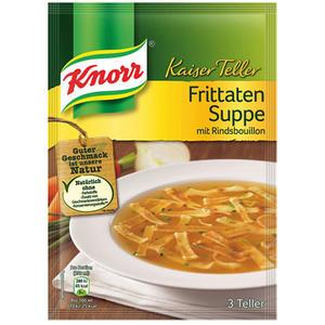 Knorr Kaiser Teller Frittaten-Suppe, 3 Teller