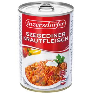 Inzersdorfer Szegediner Krautfleisch