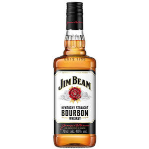Jim Beam Kentucky Straight Bourbon Whiskey, 40 % Vol.Alk., USA
