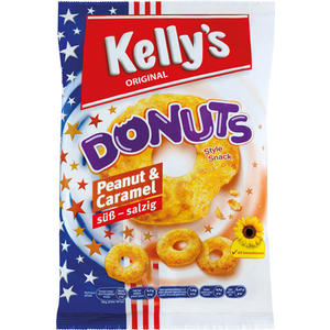 Kelly's Donuts Peanut & Caramel süß-salzig