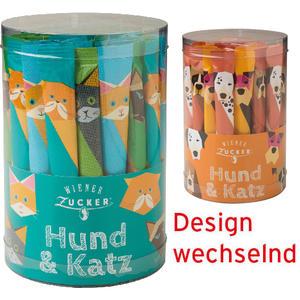 """Wiener Zucker """"Hund & Katz"""" Zuckersticks, 50 Sticks à 4 g"""