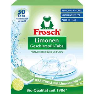 Frosch Limonen Alles-in-1-Tabs BIO, in wasserlöslicher Folie