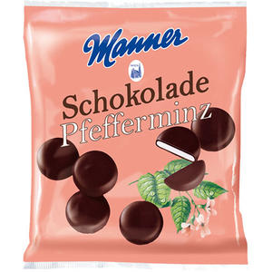 Manner Schokolade Pfefferminz