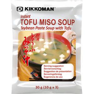 Kikkoman Tofu-Miso-Suppe, 3 Teller