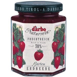 Darbo Fruchtreich Gartenerdbeer-Konfitüre (70 % Frucht)