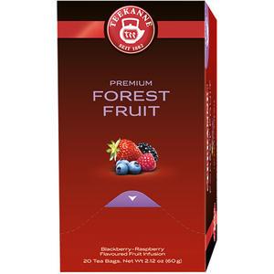 Teekanne Premium Waldbeeren, Früchtetee, Teebeutel im Kuvert