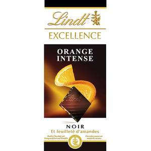 Lindt Excellence Orange Intense Noir