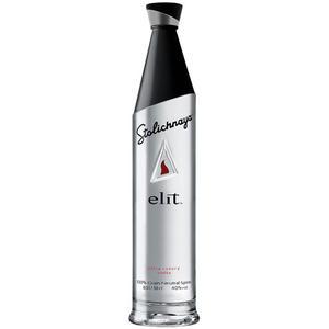 Stolichnaya elit, Ultra Luxury Vodka, 40 % Vol.Alk., Russland, im Geschenkkarton
