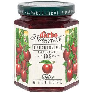 Darbo Fruchtreich Weichsel-Konfitüre (70 % Frucht)
