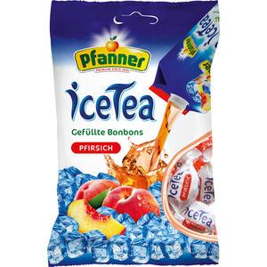 Pfanner IceTea Pfirsich, gefüllte Bonbons