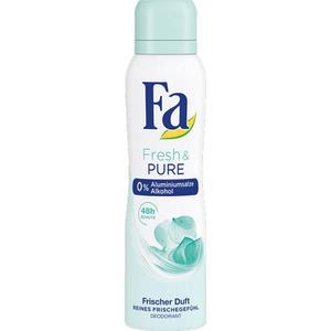 Fa Women Fresh & Pure, 48h Deo Spray, ohne Aluminiumsalze, ohne Alkohol