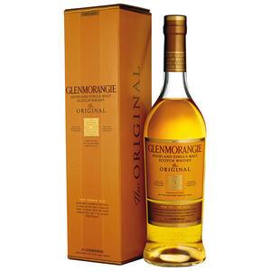 Glenmorangie Original Highland Single Malt Scotch Whisky, 10 Years, 40 % Vol.Alk., Schottland, im Geschenkkarton
