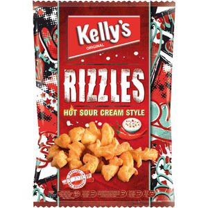 Kelly's Rizzles Hot Sour Cream Style