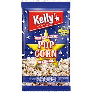 Kelly Mikrowellen-Popcorn gesalzen