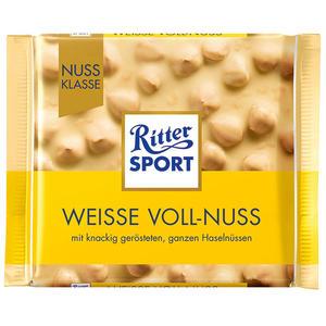 Ritter Sport Nuss-Klasse Weiße Voll-Nuss