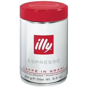 illy Espresso Caffè in Grani Mittlerer Röstgrad, Ganze Bohne