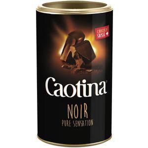 Caotina Noir Schokoladengenuß, Swiss Premium Chocolate Drink