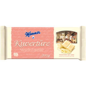 Manner Kuvertüre Weiss UTZ